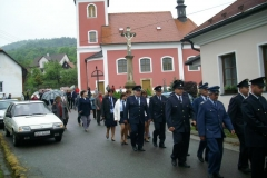 Mše svatá za hasiče 2007