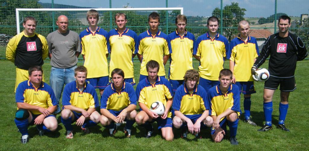 B tým 2010 - 2011