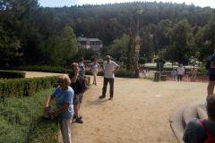 11. 8. 2020 - turistická vycházka Luhačovice - Jezírko lásky