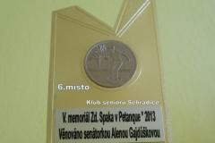 5.ročník Memoriálu PhDr. Zdeňka Szpaka v pétanque - 12.srpna 2013