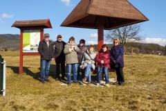Cesta kolem přehrady a bowling, Pozlovice - 20.2.2020