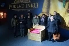 Návštěva výstavy - poklad Inků, Brno - 12.2.2020
