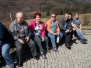 První jarní vycházka 10.4.2018 - Vysoké Pole-křížová cesta a kaplička