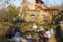 Turistická vycházka do Vizovic na Janův hrad - 23.10. 2019