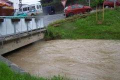 Velká voda po vydatném dešti 2.6.2010