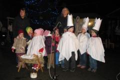ZŠ/MŠ - Rozsvěcování Vánočního stromu 2009
