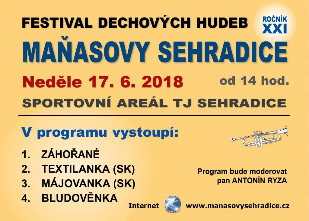 Maňasovy Sehradice 2018