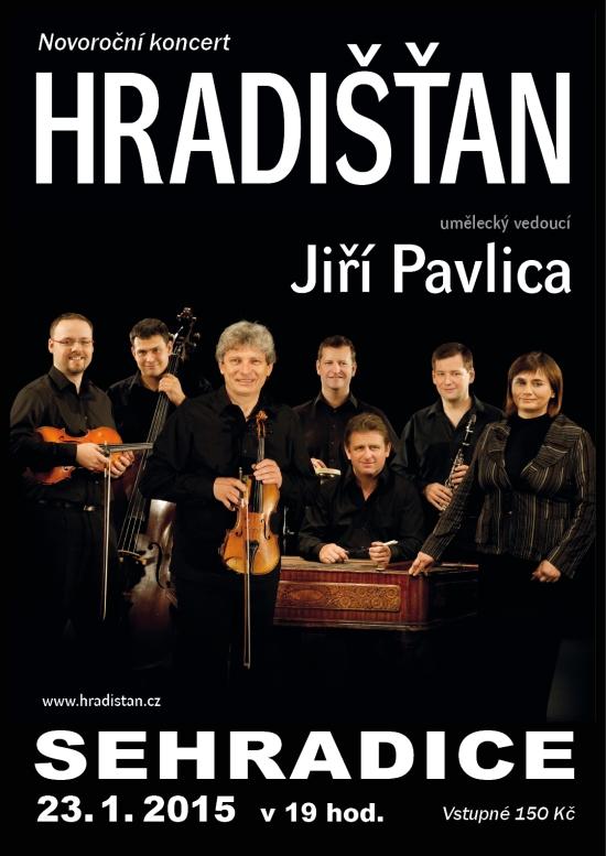 Hradišťan - KD Sehradice - začátek 19.00 hod. - vstupné 150 Kč