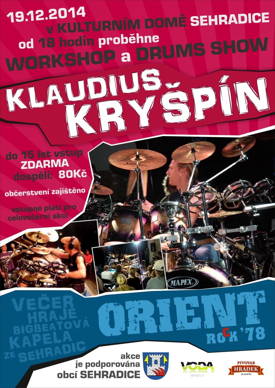 Klaudius Kryšpín + Orient - 19. 12. 2014