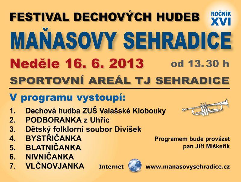 Maňasovy Sehradice 2013
