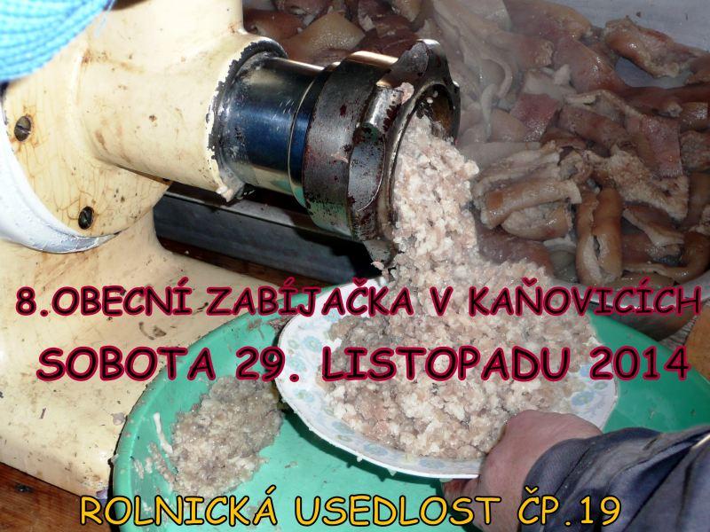 PLAKAT_zabijacka_Kanovice_2014