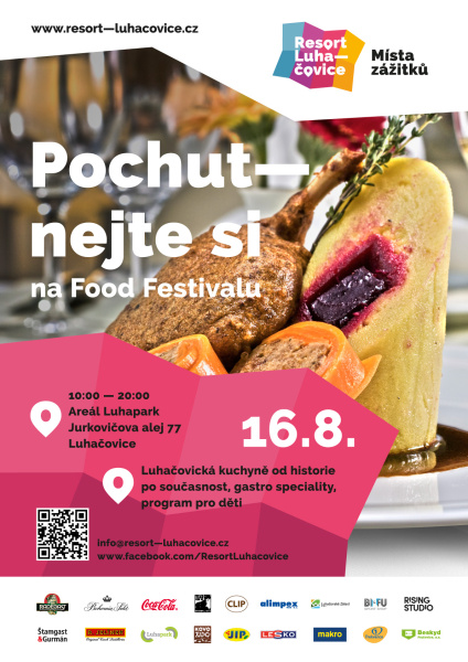 Food festival Luhačovice - 16. 8. 2014
