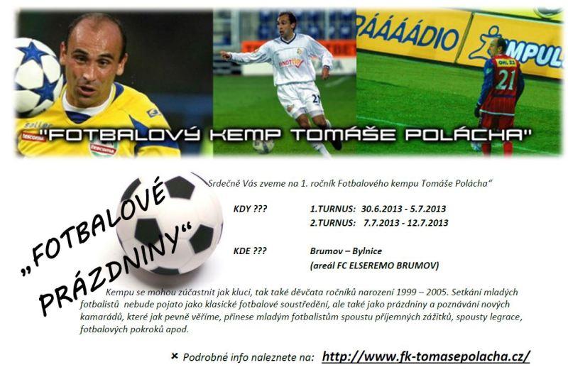 Fotbalový kemp Tomáše Polácha 2013
