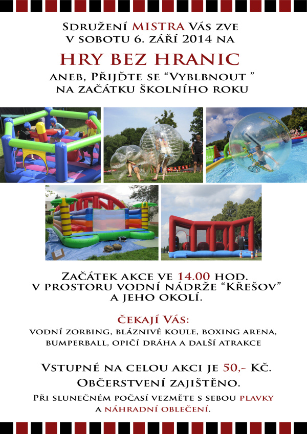 Dětský den - Slopné - 6. 9. 2014
