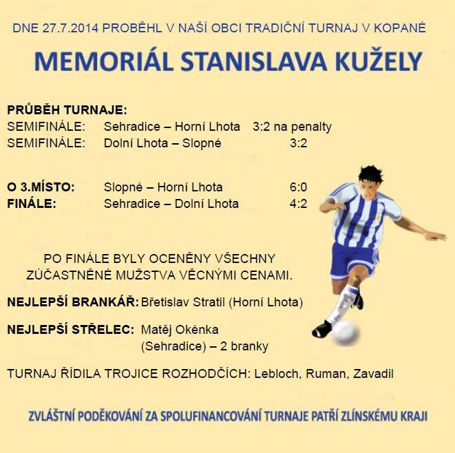 Memoriál Stanislava Kužely 2014