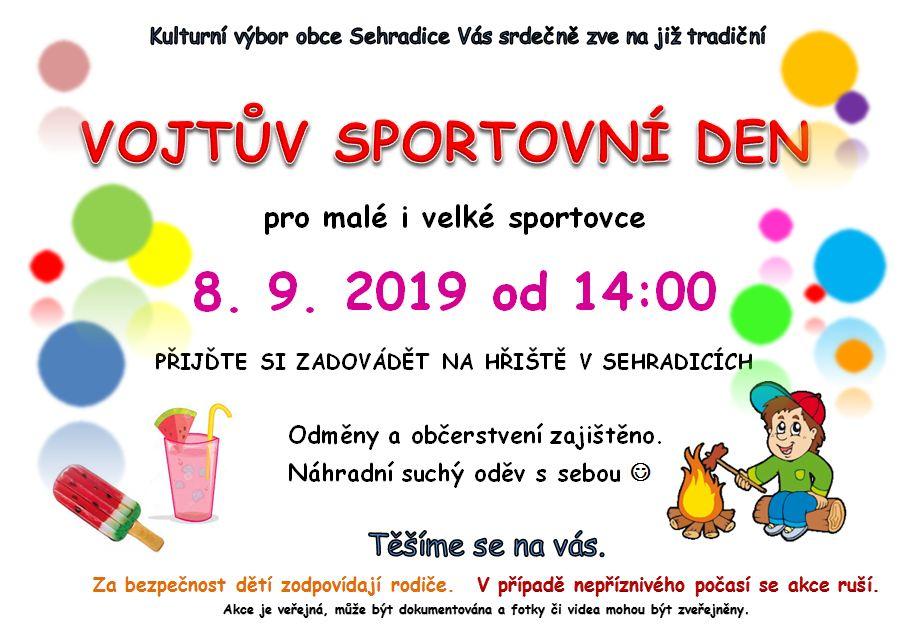 Vojtův sportovní den - 8. 9.